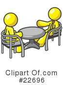 Royalty-Free (RF) Yellow Collection Clipart Illustration #22696