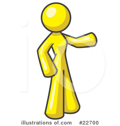 Royalty-Free (RF) Yellow Collection Clipart Illustration by Leo Blanchette - Stock Sample #22700