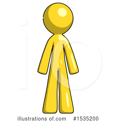 Yellow Design Mascot Clipart #1535200 by Leo Blanchette