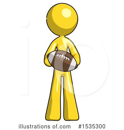 Yellow Design Mascot Clipart #1535300 by Leo Blanchette