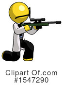 Yellow  Design Mascot Clipart #1547290 by Leo Blanchette