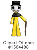 Yellow Design Mascot Clipart #1564488 by Leo Blanchette