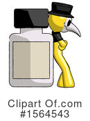 Yellow Design Mascot Clipart #1564543 by Leo Blanchette