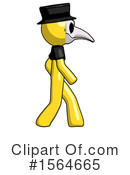 Yellow Design Mascot Clipart #1564665 by Leo Blanchette