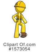 Yellow Design Mascot Clipart #1573054 by Leo Blanchette