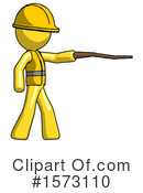 Yellow Design Mascot Clipart #1573110 by Leo Blanchette
