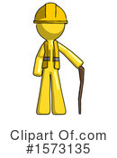 Yellow Design Mascot Clipart #1573135 by Leo Blanchette