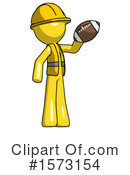 Yellow Design Mascot Clipart #1573154 by Leo Blanchette