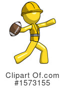 Yellow Design Mascot Clipart #1573155 by Leo Blanchette