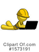 Yellow Design Mascot Clipart #1573191 by Leo Blanchette