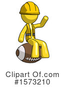 Yellow Design Mascot Clipart #1573210 by Leo Blanchette