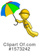 Yellow Design Mascot Clipart #1573242 by Leo Blanchette
