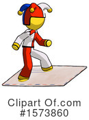 Yellow Design Mascot Clipart #1573860 by Leo Blanchette