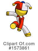 Yellow Design Mascot Clipart #1573861 by Leo Blanchette