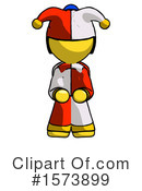 Yellow Design Mascot Clipart #1573899 by Leo Blanchette