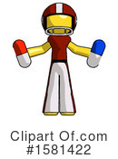 Yellow Design Mascot Clipart #1581422 by Leo Blanchette
