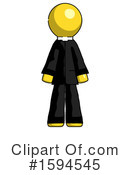 Yellow Design Mascot Clipart #1594545 by Leo Blanchette