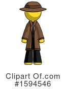 Yellow Design Mascot Clipart #1594546 by Leo Blanchette