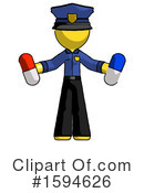 Yellow Design Mascot Clipart #1594626 by Leo Blanchette