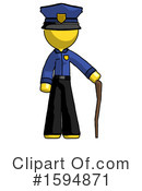 Yellow Design Mascot Clipart #1594871 by Leo Blanchette