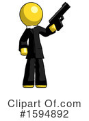 Yellow Design Mascot Clipart #1594892 by Leo Blanchette