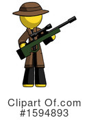 Yellow Design Mascot Clipart #1594893 by Leo Blanchette