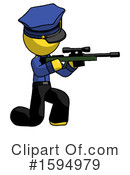 Yellow Design Mascot Clipart #1594979 by Leo Blanchette