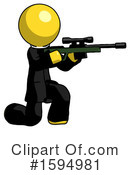 Yellow Design Mascot Clipart #1594981 by Leo Blanchette