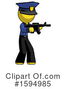 Yellow Design Mascot Clipart #1594985 by Leo Blanchette