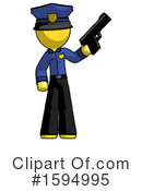Yellow Design Mascot Clipart #1594995 by Leo Blanchette