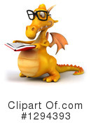 Yellow Dragon Clipart #1294393 by Julos