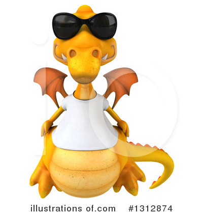 Dragon Clipart #1312874 by Julos