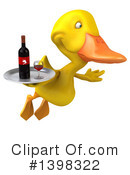Yellow Duck Clipart #1398322 by Julos