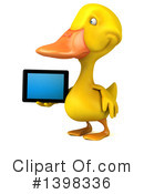 Yellow Duck Clipart #1398336 by Julos