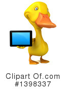 Yellow Duck Clipart #1398337 by Julos