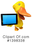 Yellow Duck Clipart #1398338 by Julos