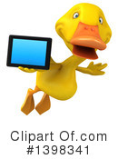 Yellow Duck Clipart #1398341 by Julos