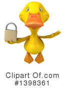 Yellow Duck Clipart #1398361 by Julos