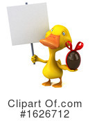 Yellow Duck Clipart #1626712 by Julos