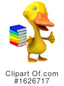 Yellow Duck Clipart #1626717 by Julos