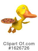 Yellow Duck Clipart #1626726 by Julos