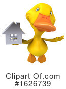 Yellow Duck Clipart #1626739 by Julos
