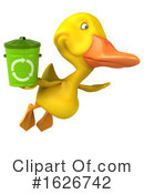 Yellow Duck Clipart #1626742 by Julos