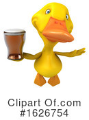 Yellow Duck Clipart #1626754 by Julos