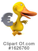 Yellow Duck Clipart #1626760 by Julos