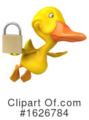 Yellow Duck Clipart #1626784 by Julos