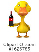 Yellow Duck Clipart #1626785 by Julos