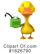 Yellow Duck Clipart #1626790 by Julos