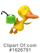 Yellow Duck Clipart #1626791 by Julos
