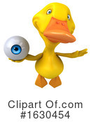 Yellow Duck Clipart #1630454 by Julos